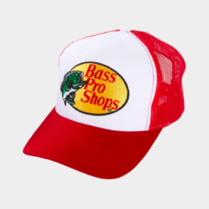 Bass Pro Shops Embroidered Logo Mesh Cap - Red
