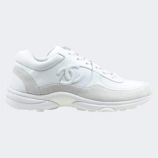 Chanel White Trainers-2