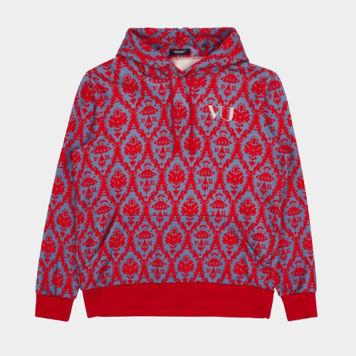 Undercover Valentino X Undercover Hooded Sweatshirt Red Base