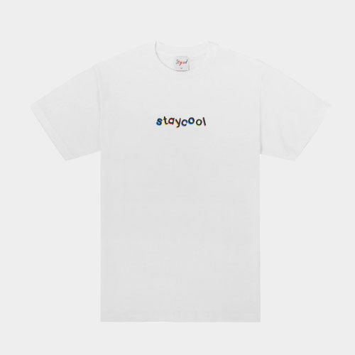 Stay Cool NYC Classic Tee (White)