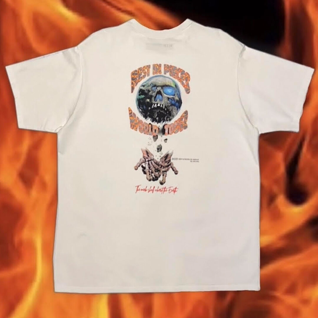 """Souled Out Tee (Ivory) """"Rest In Pieces Vol. I"""""""