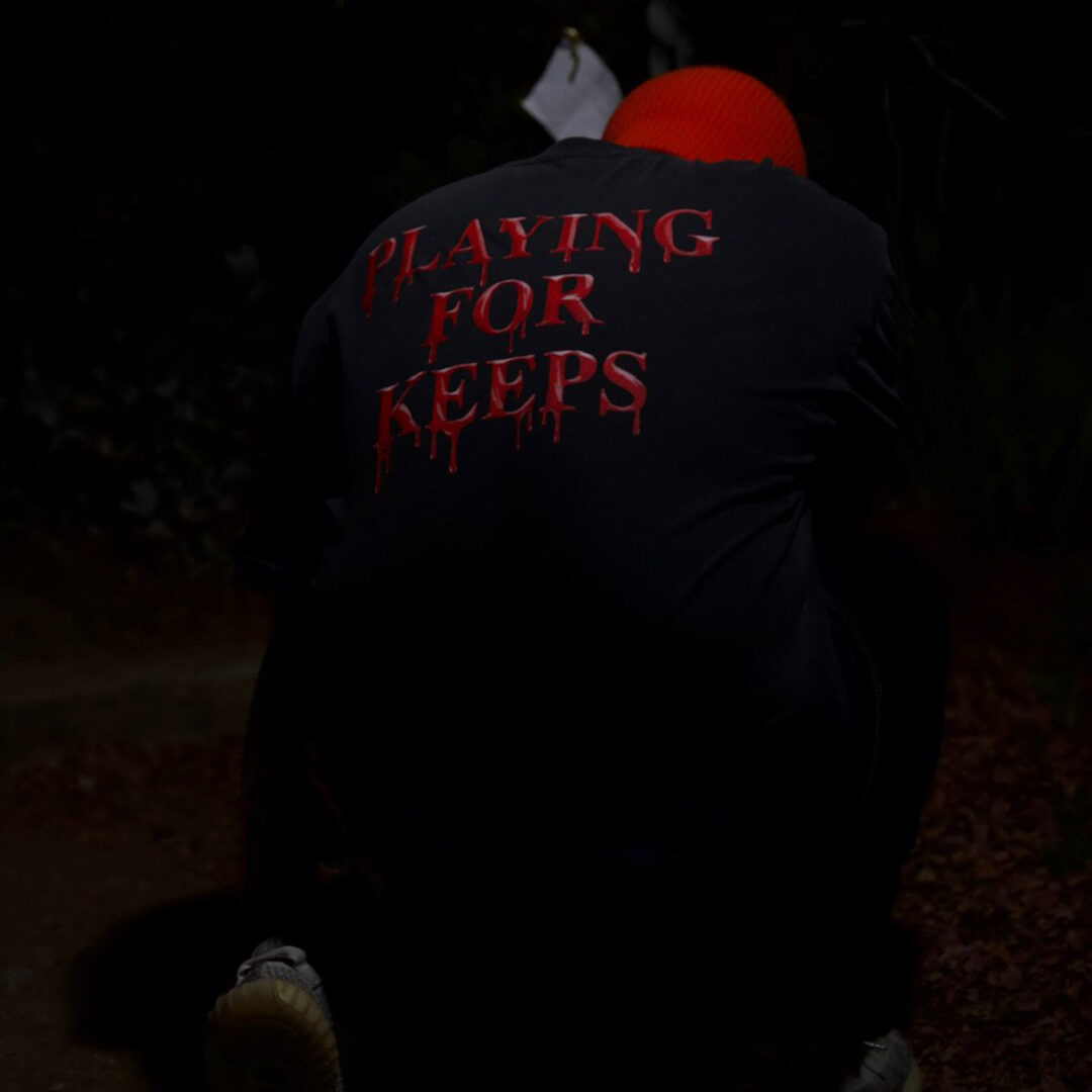 """Playing For Keeps Tee (Black) """"Rest In Pieces Vol. I"""""""