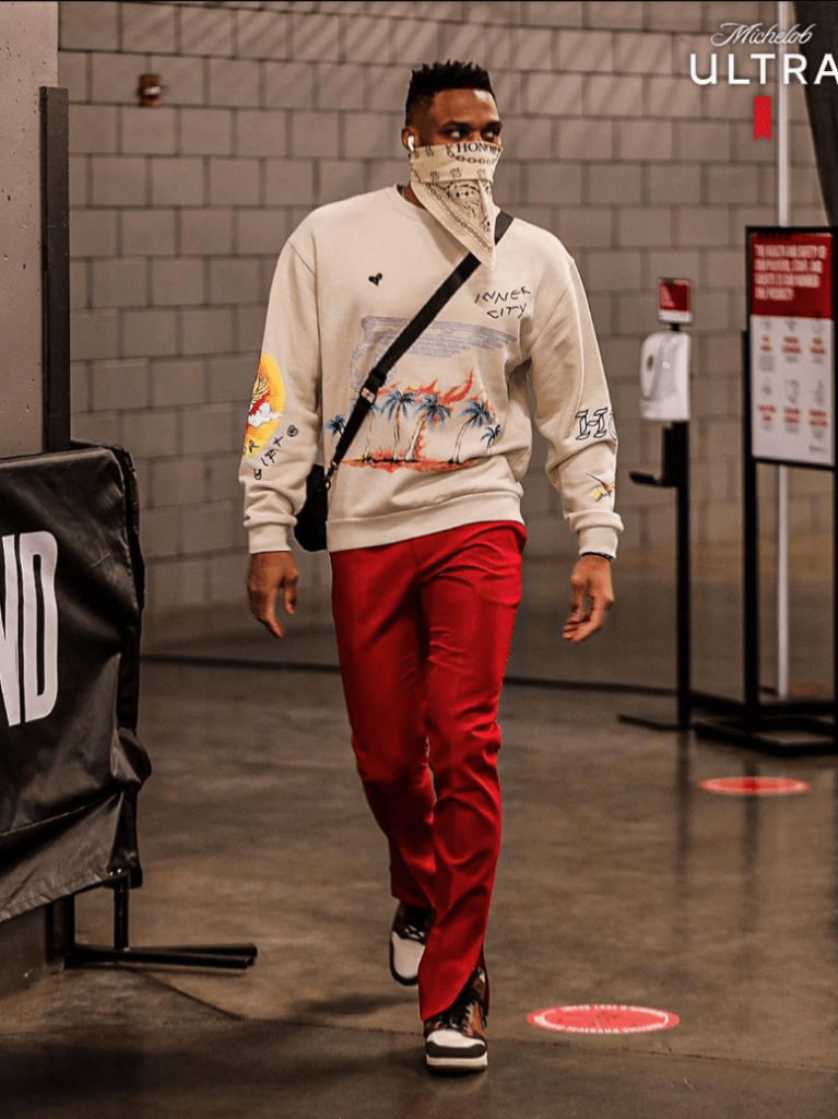 russell-westbrook-arrives-for-wizards-versus-trailblazers-2-22-21