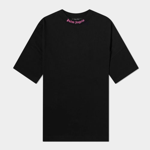 Palm Angels Double Printed Oversize Mock