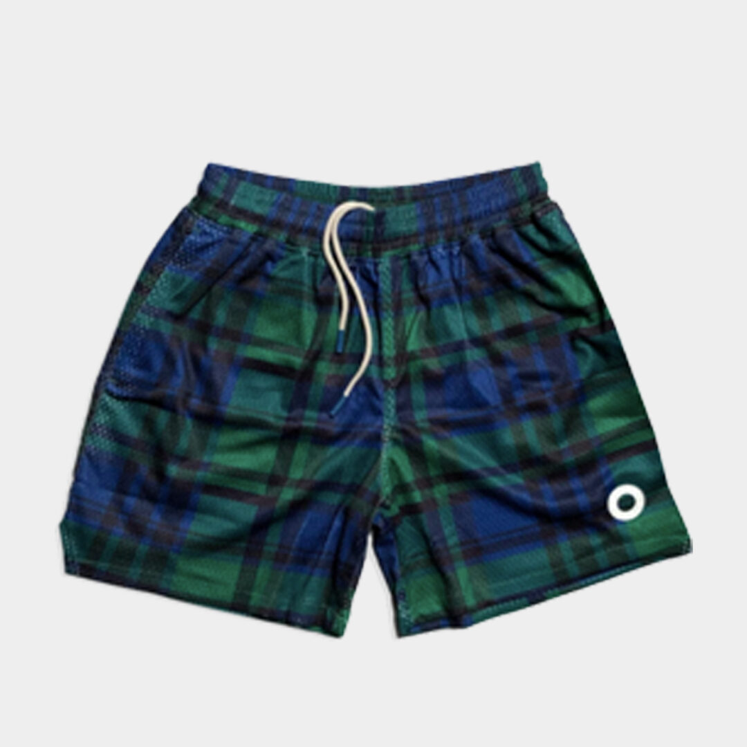 Trophy Hunting game changer plaid shorts