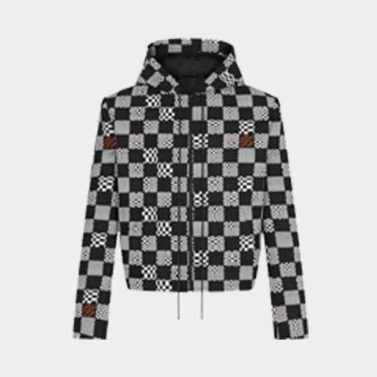 Louis Vuitton constructed hoodie