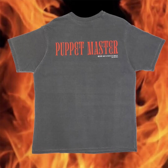 """Puppet Master Tee (Black) """"Rest In Pieces Vol. I"""""""