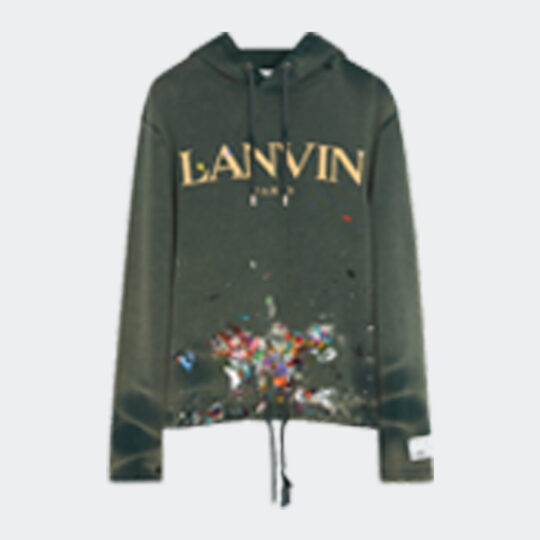 Lanvin x Gallery Dept. logo and paint marks