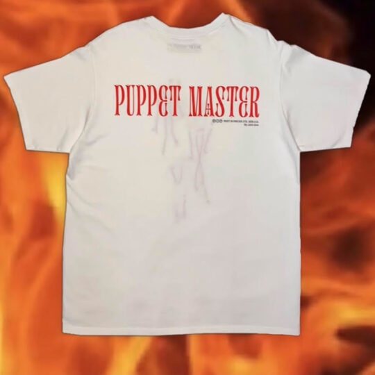 """Puppet Master Tee (Ivory) """"Rest In Pieces Vol. I"""""""