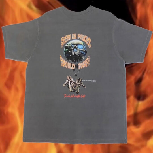 """Souled Out Tee (Black) """"Rest In Pieces Vol.I"""""""