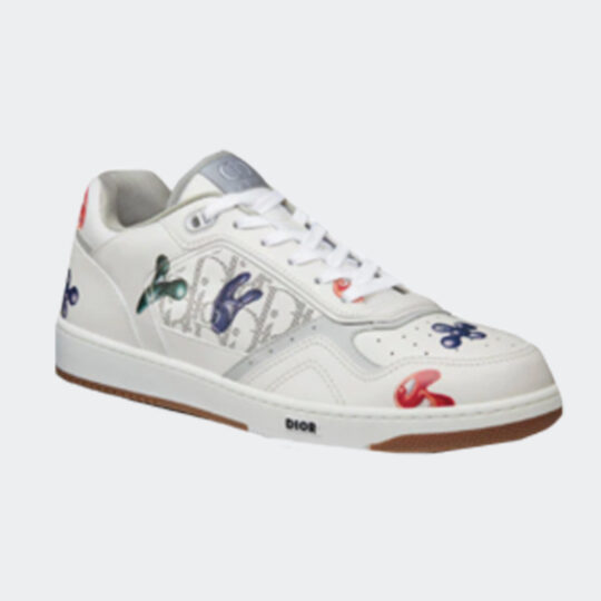 Dior and Kenny scharf low-top sneaker
