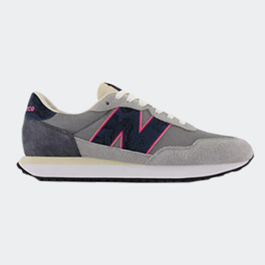 New Balance 237 navy and grey sneaker