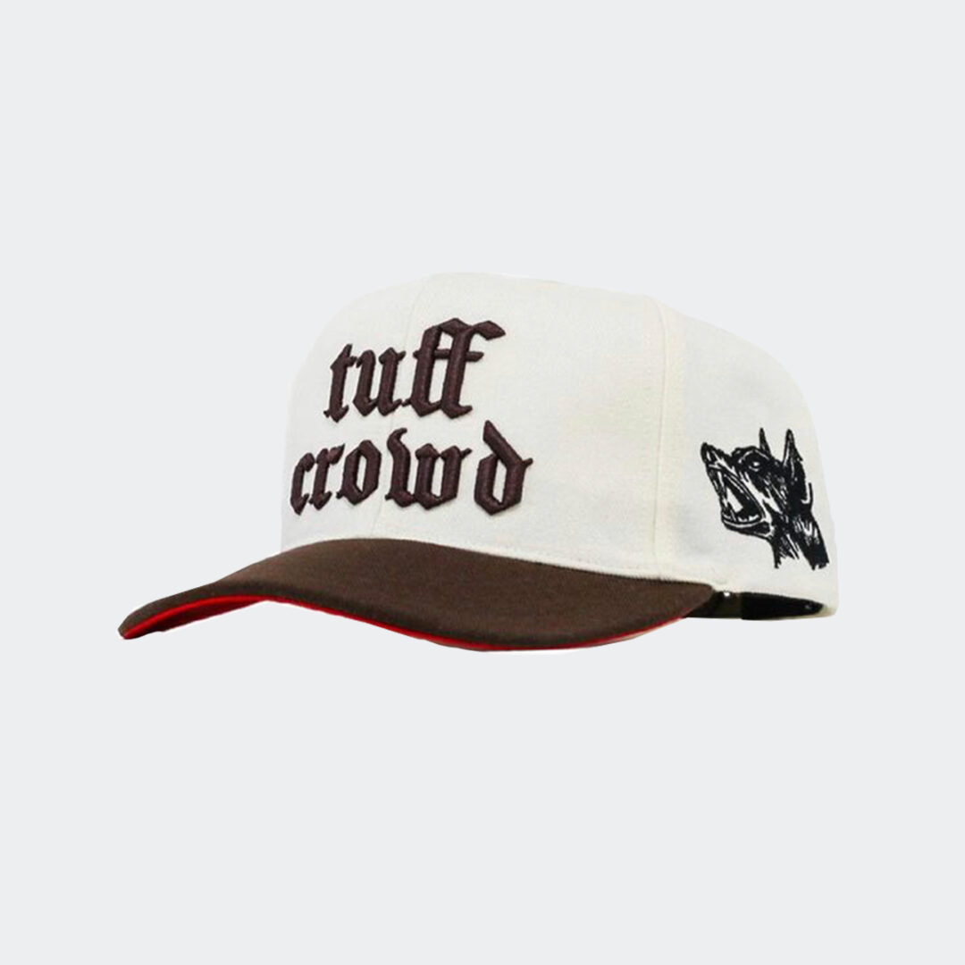 Tuff Crowd old english 'cut and sew ' hat (brown)