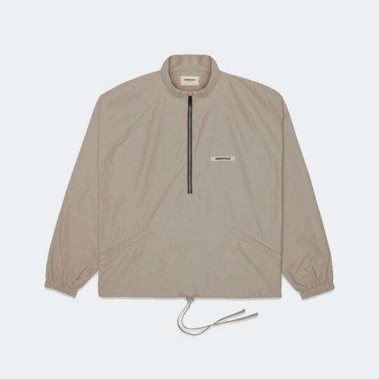 Fear of God Essentials toupe Half-Zip Track Jacket