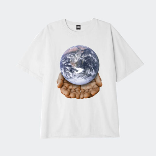 Obey our planet is in your hands tee