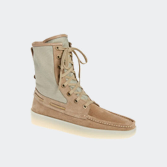 Fear of God boat lace-up boot