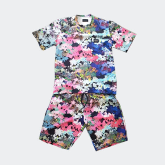 Phenom floral tee and shorts set