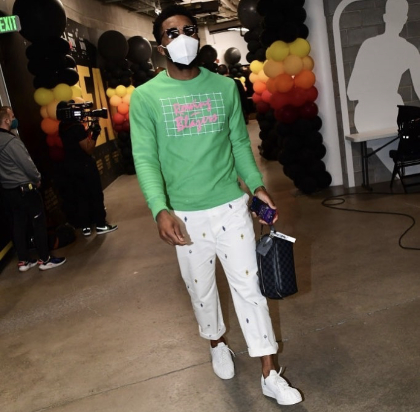 donovan-mitchell-arriving-for-game-2-jazz-x-clippers-game