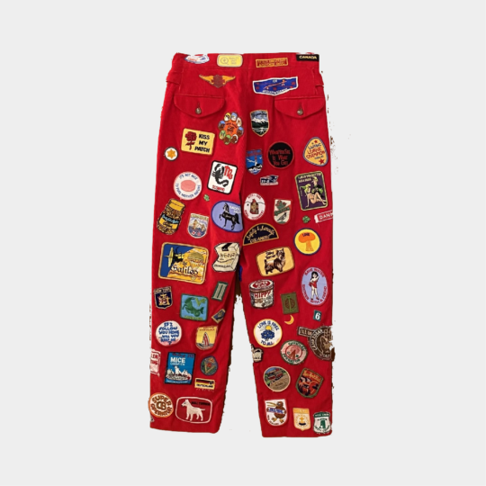BODE Multi Patch Trousers