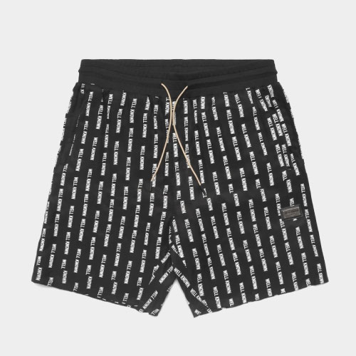 The Wooster Short - Striped Black