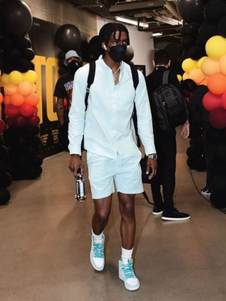terance-mann-arriving-for-clippers-vs-jazz-game-2-06-10-21
