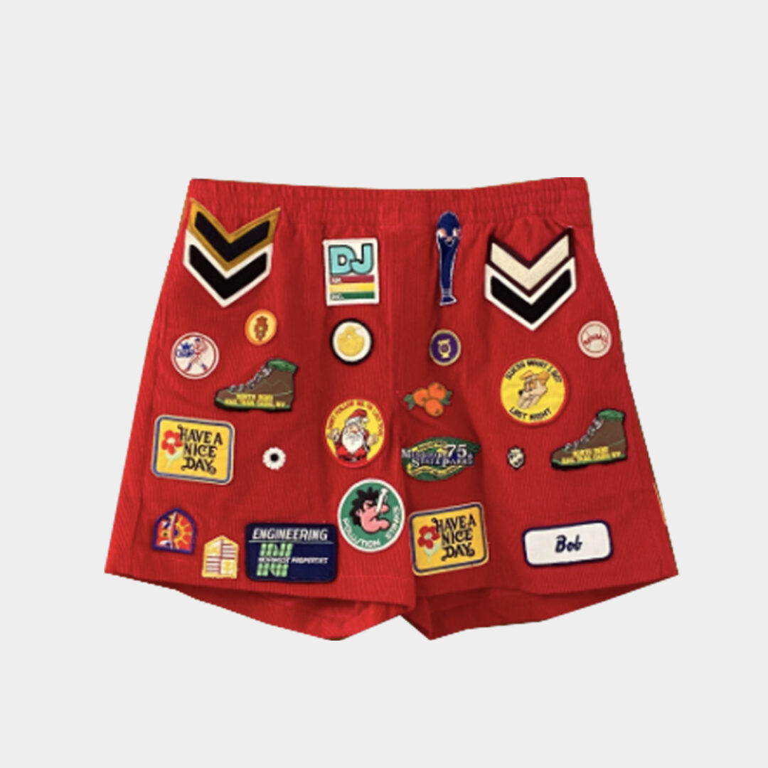 Bode Multi Patch Rugby Shorts