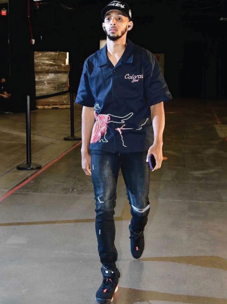 cameron-payne-arriving-for-game-2-of-nba-finals-7-08-21