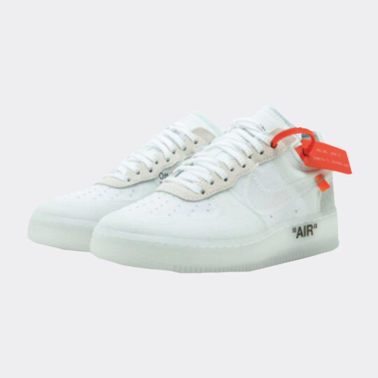 Nike x Off White Air Force 1 White Sneakers