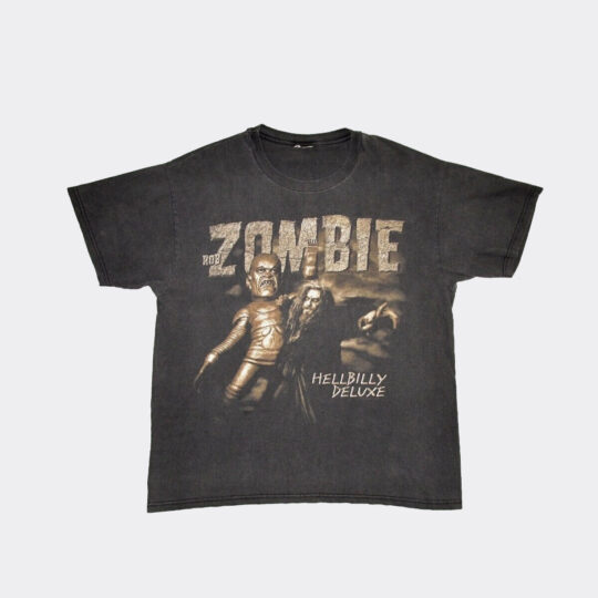 Rob Zombie Hellbilly Deluxe 2002 Tour Tee