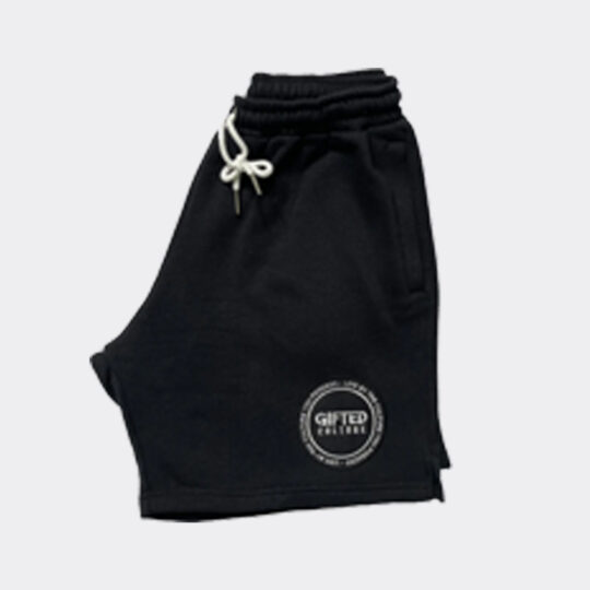 Gifted Culture Black Sweat Shorts