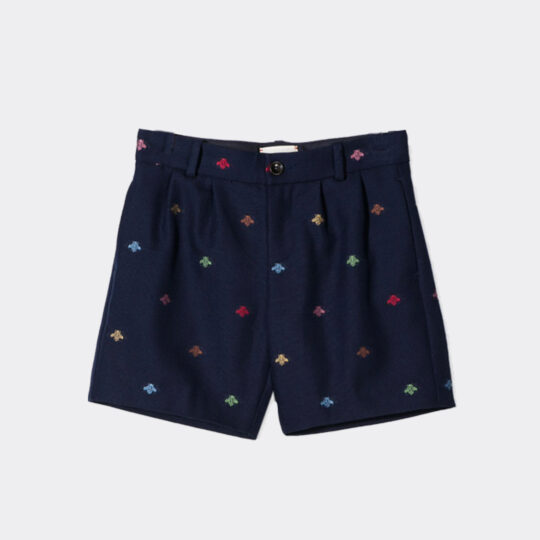 Gucci Bee Embroidered Shorts
