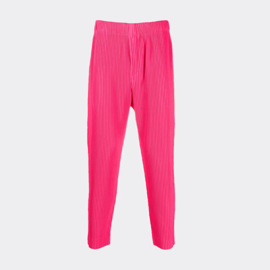 Homme Plisse Issey Miyake Pink Monthly Color June Trousers
