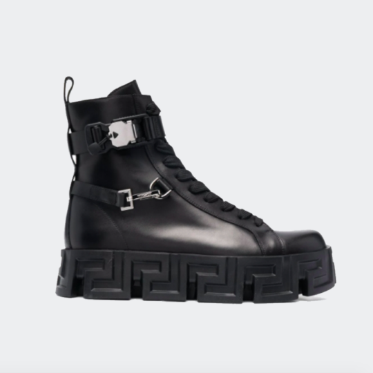 Versace Greca-Sole Ankle Boots