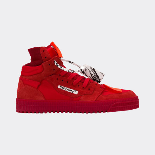 Off-White Court 3.0 Red sneaker