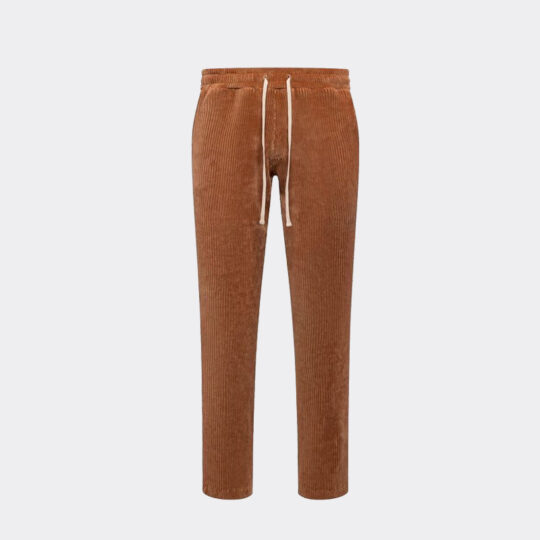 Christos the Luxe Trouser - Rust